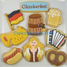 oktoberfest cookies - Google Search