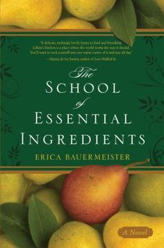 Reminiscent of Chocolat and Like Water for Chocolate , a gorgeously written novel about life, love, and the magic of food. The School of Essential Ingredients follows the lives of eight students who gather in Lillian s Restaurant every Monday night for cooking class. It soon becomes clear, however, that each one seeks a recipe for something beyond the kitchen.