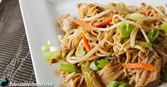 """Chicken chow mein is one of those classic Chinese take-out dishes that just about everybody enjoys. This is a great dish that's easy to make and tastes so delicious you'll swear it was takeout! When I was a kid, my mother would order from the popular """"Cathy's Chinese Restaurant"""" back home in New Brunswick in …"""