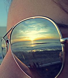 Sunglass reflections