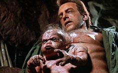 The Mutants George and his parasitic twin, Kuato from the 1990 version of Total Recall.