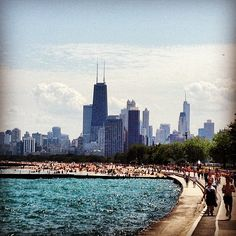 I could lay in the grass outside the Art Institute all day, grab a hot dog and watch a sox game, or stroll down Michigan Ave. This is my city where I'm home.