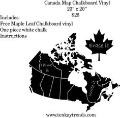 A fun and unique way to help your child learn the Canadian Provinces!