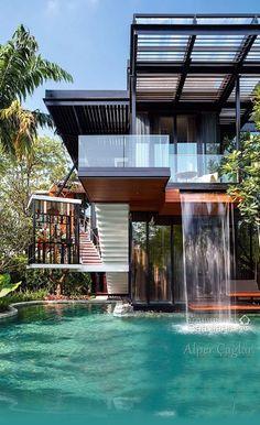 The Nest House By Sarayut Architects U0026 Linex Design. Location: By  Architectdesigne