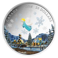 1 oz. Fine Silver Coin – Venetian Glass Angel – Mintage: 10,000 (2016)