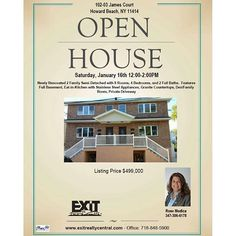 sale #openhouse this weekend in #howardbeach. Call the office for more info 718-848-5...