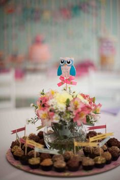 Pretty Little Owl party - Maybe a nice feel for Becca's party
