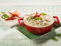 Coconut Chutney, is a south indian dish which is a accompaniment for Dosa's & idli's and the main ingredient being grated coconut.