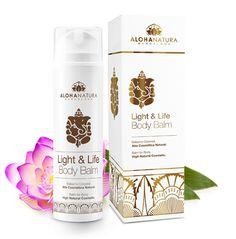 Light & Life, Bálsamo corporal muy rico, nutre e hidrata la piel de todo el cuerpo, basado en el aceite Light & Life, antiedad, antiestrés, combate la ansiedad,...