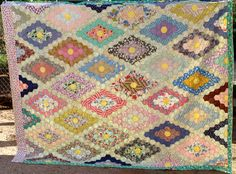 Vintage Hand Stitched Quilt. by TrueAngels on Etsy, $350.00
