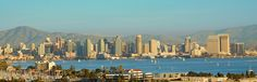 San Diego Skyline during the Day