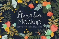 Floralia Mockup by Mia Charro on Creative Market