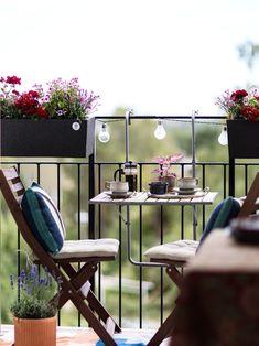 Balcony Chairs, Balcony Furniture, Balcony Plants, Balcony Garden, Outdoor Furniture Sets, Balcony Flowers, Small Balcony Design, Small Balcony Decor, Outdoor Balcony