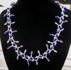 Free pattern for necklace Denisa Click on link to get pattern - http://beadsmagic.com/?p=8708