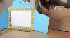 Cómo hacer un kamishibai de cartón