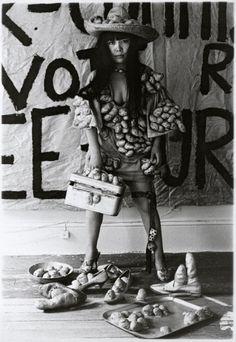 Yayoi Kusama in one of her New York studios 1970