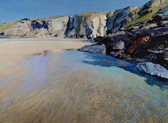 Pool, Trebarwith Strand by Bob Rudd