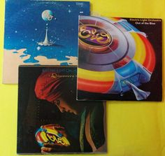 ELECTRIC LIGHT ORCHESTRA - LOT 3 X LPs - COMBO - VENEZUELA & USA PRESS #Electronica