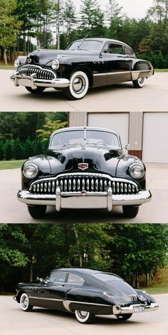 Eight-cylinder engine – a concept that many car factories did not use. Evidently the most famous Buick Super from 1949 has one of those engine under the hood! Retro Cars, Vintage Cars, Buick Models, Cool Old Cars, Buick Cars, American Classic Cars, Classy Cars, Unique Cars, Us Cars