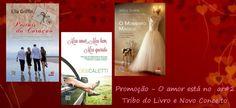 """Curta e participe desta promoção no facebook """"O Amor está no ar#2-Tribo do Livro e Novo Conceito - somente no facebook"""