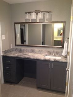 Vanity Cabinetry - After