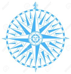 3343189-Compass-wind-rose-with-Fleur-De-Lys-pointing-north-and-sun-face-in-center-Stock-Vector.jpg (1244×1300)