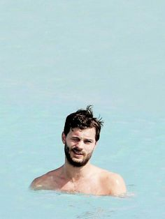 Jamie Dornan swimming FSOG