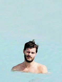 Jamie Dornan swimming FSOG