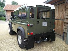 For Sale : Landrover Defender original LHD with factory installed 200 Tdi engine. repainted in original EASTOR GREEN. Matching number truck with. Land Rover Defender 110, Defender 90, 1964 Porsche, 4x4 Off Road, Roll Cage, Retro Cars, Jeep Wrangler, Vintage Toys, Recreational Vehicles