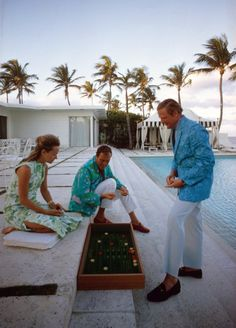 Palm Beach-goers of the 1960s,