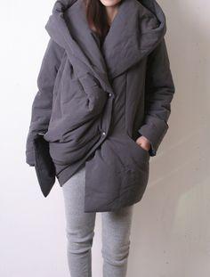 This coat looks super comfy.