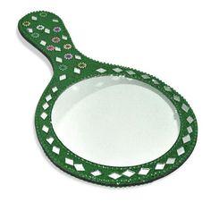 Amazon.com - Hand Mirror Decorative Green Color - Handheld Mirrors