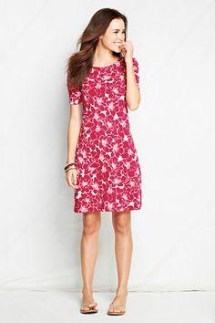 b0e69389c2 T-shirt Dress from Lands' End Cute Spring Outfits, Plus Fashion, Fashion