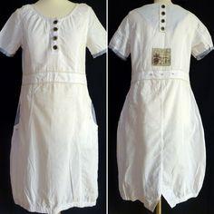 Chillnorway Tunic Dress Sloan Kleid M Lagenlook Boho Linen White Seaside Seaside, Folk, Short Sleeve Dresses, Tunic, Rompers, Shopping, Beautiful, Clothes, Style