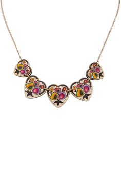 Folk Art Link Necklace, £35: http://www.tattydevine.com/shop/collections/contemporary/folk-art-link-necklace.html