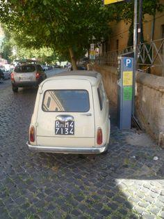 Original Fiat 500 in #Rome