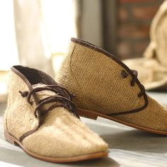 SuperEarth — rice sack chukka boots