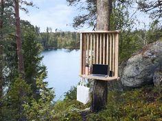 В финском городе Лахти появились станции для удаленной работы в лесу. Станции под названием Viitaустанавливаются в парках и природных зонах по всему городу.