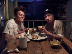 JYP and Wooyoung have a makgeolli date.