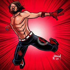 Cartoon People, Aj Styles, Wwe Superstars, Dream Team, Caricature, Mma, Iron Man, Athlete, Wrestling