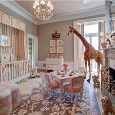Never in a million years of course, but I still love it! Especially the giraffe! Would like a more delicate table and chairs though.