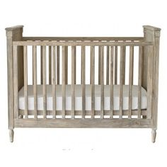 A stunning baby cot inspired by late 18th century european architecture.