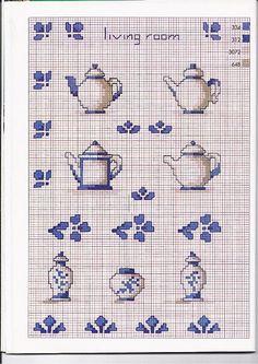 ... idee per la cucina on Pinterest  Punto croce, Cross stitch and Cucina