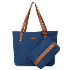 SHARE & Get it FREE | Zipper Carryall Shoulder Bag with Wristlet PurseFor Fashion Lovers only:80,000+ Items • New Arrivals Daily • Affordable Casual to Chic for Every Occasion Join Sammydress: Get YOUR $50 NOW!