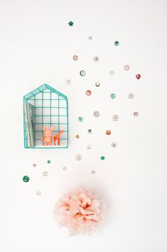 Button wall stickers pink   Products   Studio ditte