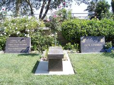 """Resting place of great Carrol O'Connor or """"Archie Bunker"""" of All in the Family tv sitcom."""