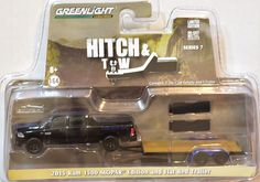 Toy truck with hitch and trailer like Papa's for Talan's stocking...=)  Can also pull camper I bought to goo with it....Diecast & Toy Vehicles, Cars, Trucks & Vans