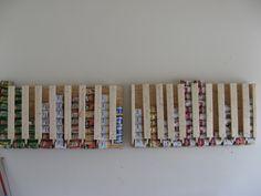 DIY can storage rack for Food Storage