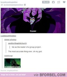 This fits especially well since maleficent is my all time favorite disney character