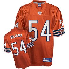 Jerseys NFL Outlet - Chicago Bears #99 Dan Hampton Navy Blue With Orange Retired Player ...